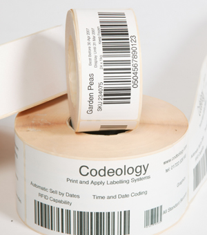Codeology can supply plain and coated labels for all applications